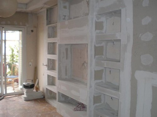 Elementi decorativi in cartongesso lavori in cartongesso for Archi arredo roma