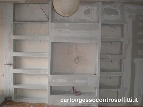 Arredamenti in cartongesso lavori in cartongesso roma - Pareti mobili in cartongesso ...